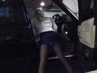Cd Tv Ts Sissy Slut In Car Parking Teasing