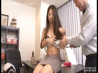 Married Asian Slut With Her Boss And Co-workers Hd Uncensored