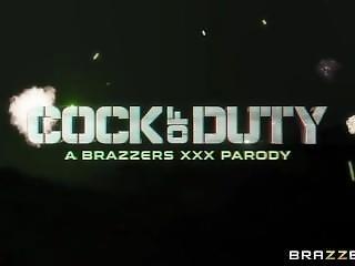 Cock Of Duty A Xxx Parody Trailer By Brazzers
