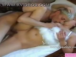 Russian Stepmom Vera And Her Son