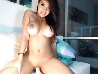 Big Titty Dildo Ride 2