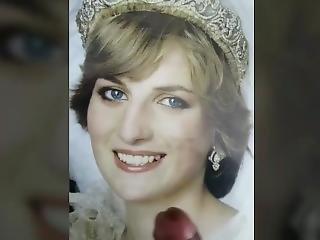 Creaming My Beautiful Princess Diana