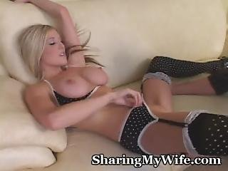 Amazing Babe Gets Drilled By Large Cock