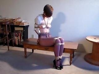Girl Tied Up And Gagged