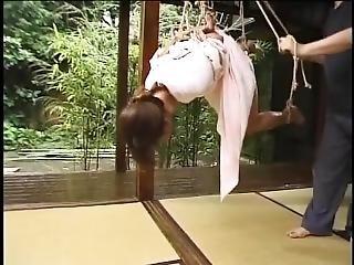 asiatique, bondage, japonaise, torture