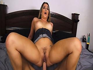 Mila Marx Bouncing Off Her Pussy Like A Cherry On Top