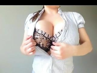Huge Tits Samanta Lily Teasing Her Giant Boob Measurements - Part 1