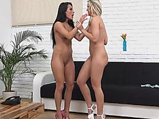 Lesbians Lexi And Angel Enjoy Pissing On Each Other