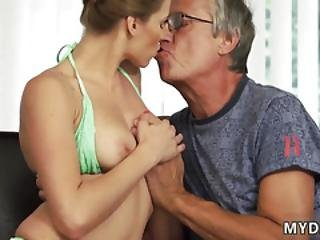 Old Double Penetration And Granny Threesome First Time