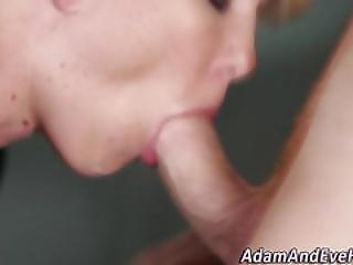 Cfnm Blonde Sucking Dick