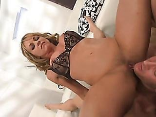 Sexy Babe Gets Her Pussy And Asshole Covered With Cum