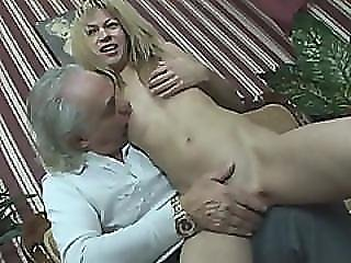 Old Fart With Perfectly Functioning Rod Nails A Cheap Mature Whore