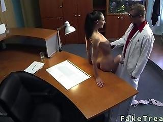 Doctor Fucks His Hot Patient On The Desk
