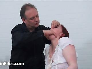 Bizarre Spanking And Messy Humiliation Of Enslaved Isabel Dean In Degrading