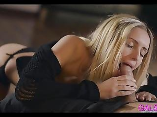 Drilling Gorgeous Teen
