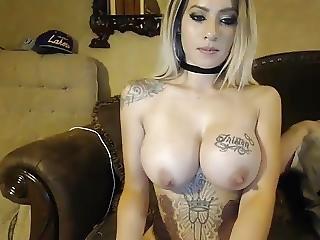 ερασιτεχνικό, Milf, τατουάζ, Webcam
