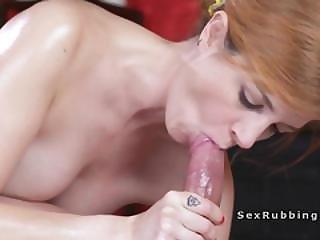 Hot Euro Babe Getting Anal Massage