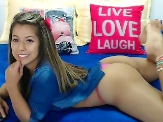 brasiliansk, fødder, fod, webcam