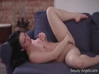 Beauty Angels.com   Gloria Hole   Flexible Gloria Shows Her Pussy