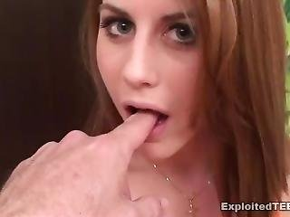 Pre View: Barely Legal Little Teenage Girl Brouke, 18 Of Exploited Teens