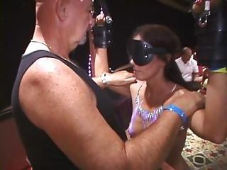 Bigbutt Pawg Beat By Bullwhip Blindfolded Milf Vibed In Public Longest Edit
