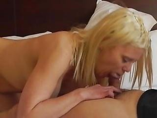 Blow Job Deep Throat Part 2 Sexy Blonde Barbie Blaze