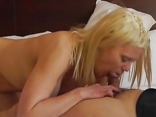Blow Job Deep Throat Part 2 Sexy Blonde Barbie Blaze