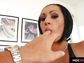 Cassey Gets Her Ass Drilled Gonzo Style In Anal Scene