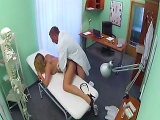 Excited Doctor Performs Hot Fuck
