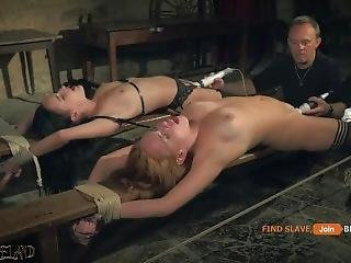 Bondagefuck For 2 Sub Slaves Ready To Please You