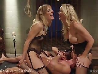 Bondage, Daughter, Dominatrix, Fetish, Mom, Pornstar, Threesome