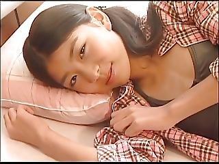 Izumi Asuka On The Bed