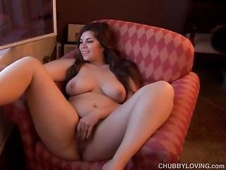 Cute Chubby Smoker Imagines You Fucking Her Fat Juicy Pussy
