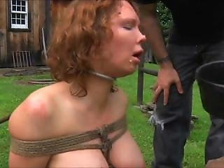 Slave Girl Gets Bruttaly Abused And Played