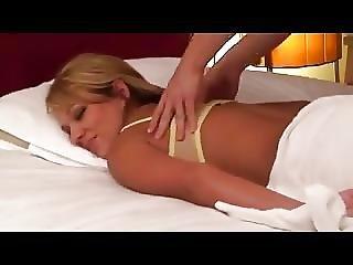 Blonde Massage Censored