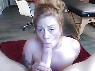 Big Cock Deep Throating And Cumshot On Sexy Feet