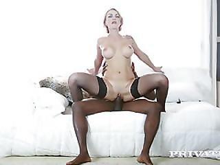 Busty Milf Iskra Has Her First Interracial...
