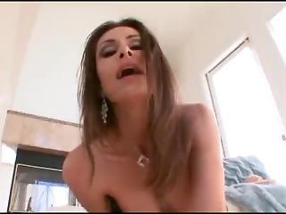 Brunette Mils Rides Her Dildo Until She Squirts