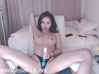 Amateur, Asiatique, Bonasse, Pipe, Coréene, Masturbation, Orgasme, Jouets, Webcam