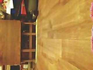 Tgirl Peeing On The Floor In Stockings