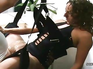 German Milf Hard Fucked By Stranger Without Condom