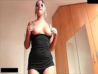 Blonde Bombshell Stepdad Quickie   Forces Him To Cum