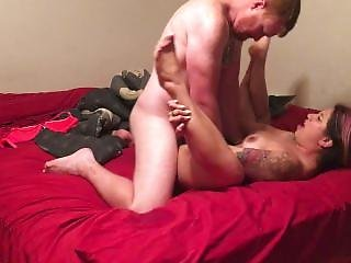 Rough Drunk Sex, Cum On My Ass