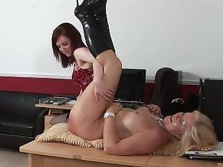 Sexy Milf Gets A Spanking