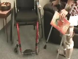 Polio Wheelchair Legbrace