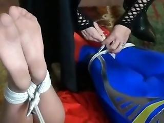 Super Woman Hogtied