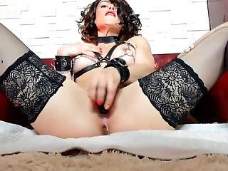 Leather Outfits With Chains & Orgasms