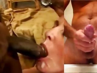 Hypno#2 Cuck Wife Swallows / Hubby Jerk Off