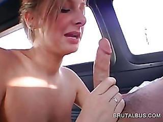 Sensual Blonde Licks And Sucks Hard Cock