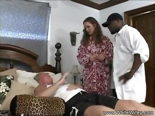 Anal, Black, Tromper, Maison, Femme Au Foyer, Interracial, Mariée, Milf, Sexe, Blanc, Femme